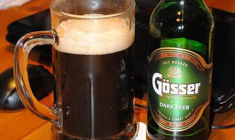 Как и с чем подавать пиво gesser