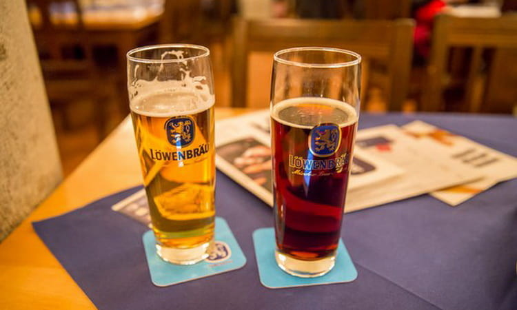 Какие виды пива ловенбрау делает производитель