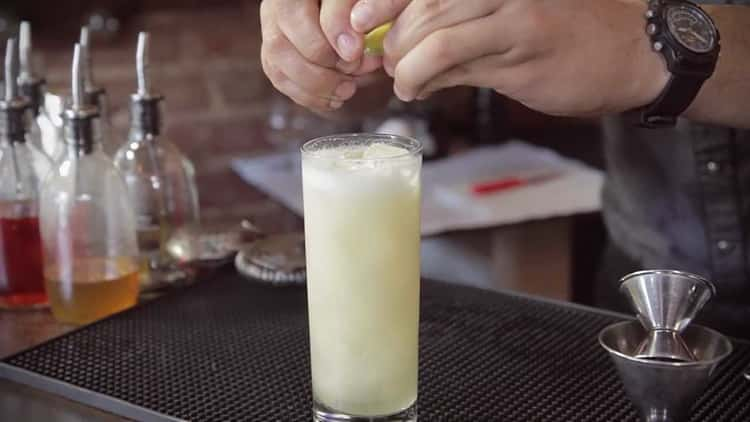 Что входит в коктейль джин физ