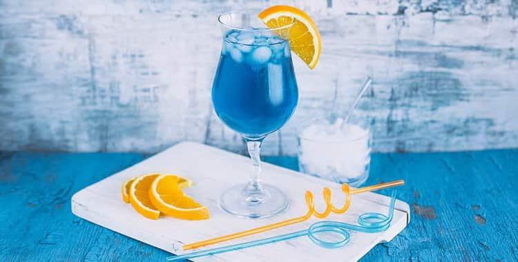 Коктейль безалкогольный голубая лагуна рецепт 🍓