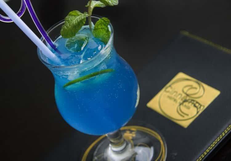 коктейль голубая лагуна безалкогольный
