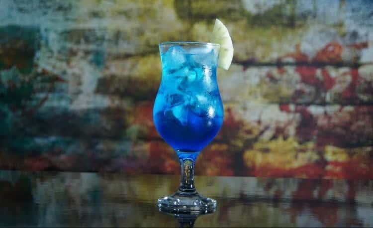 коктейль голубая лагуна: классический рецепт