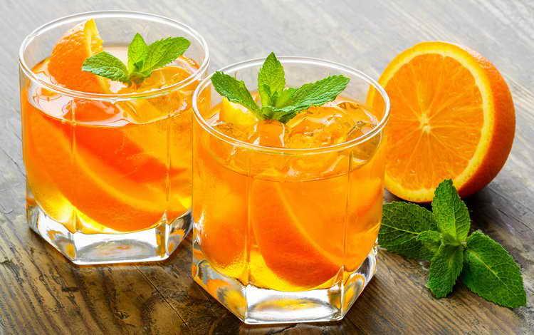 как сделать апельсиновый коктейль
