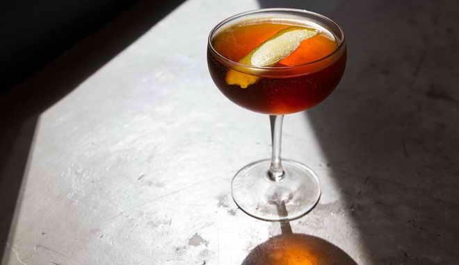 коктейль мартини с джином