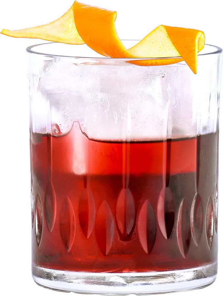 Простертые алкогольные коктейли с вином