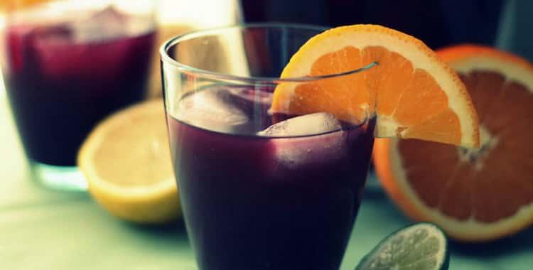 Как сделать коктейли с вином в домашних условиях