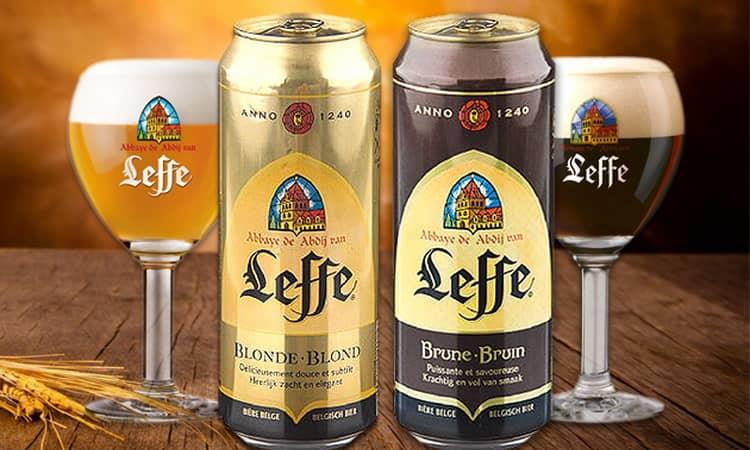 Как купить оригинальное пиво леффе темное