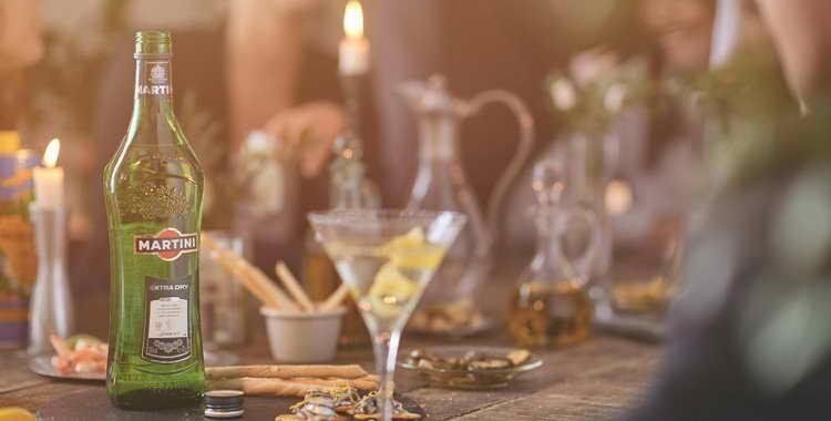 С чем мешать мартини экстра драй