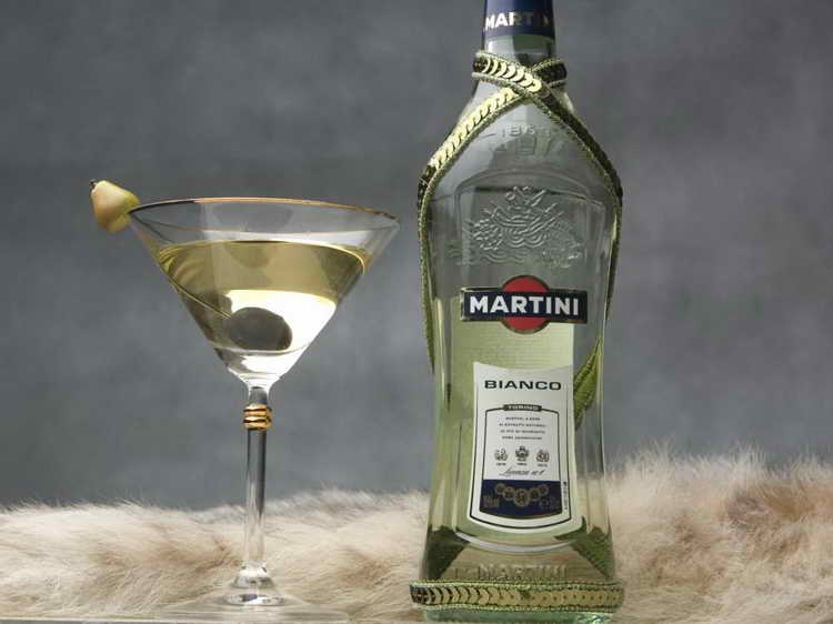 с чем мешают мартини