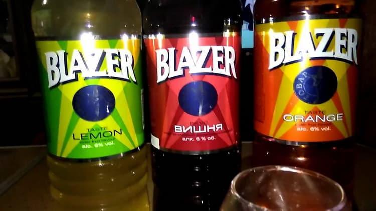 Какие есть вкусы блейзера
