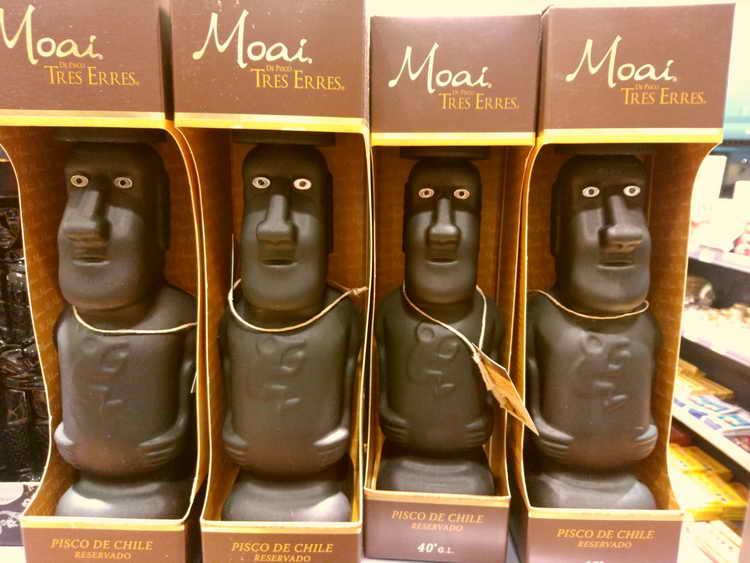 Pisco Tres Erres Moai Reservado