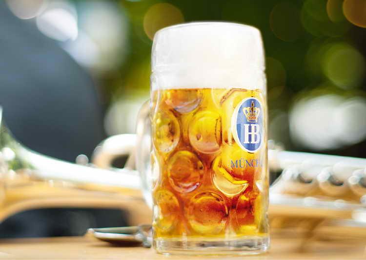 пиво hofbrau