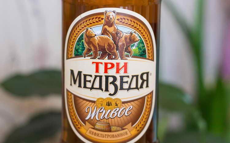 пиво Три медведя крепкое