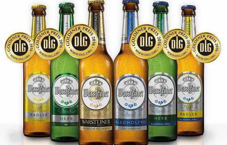 пиво warsteiner виды