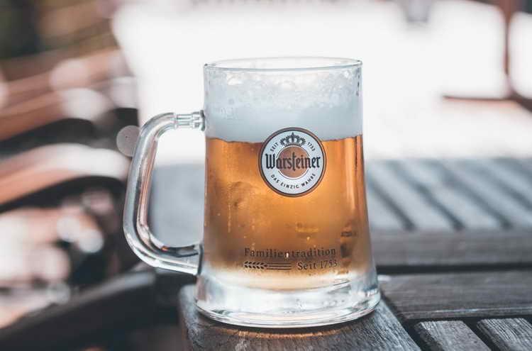 как подавать пиво warsteiner