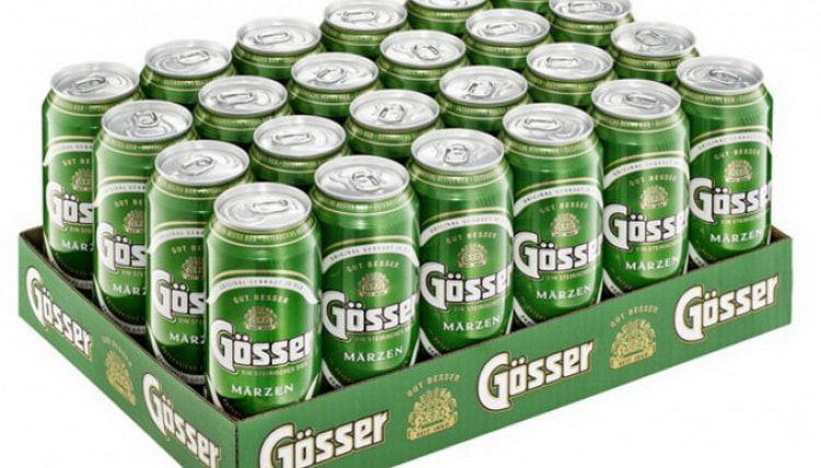Как купить оригинальное пиво gosser