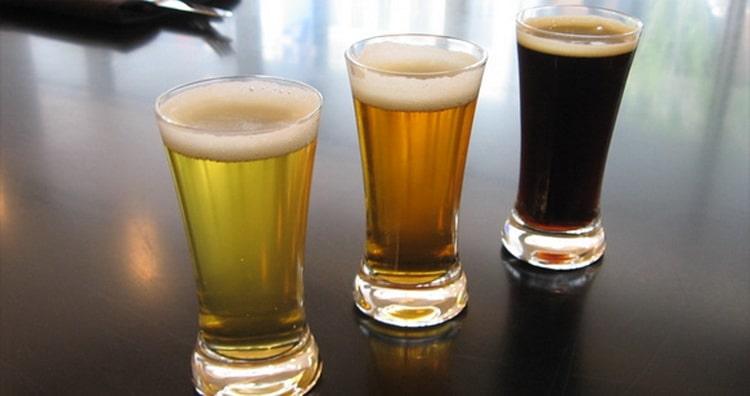 Как стоит подавать великобританское пиво