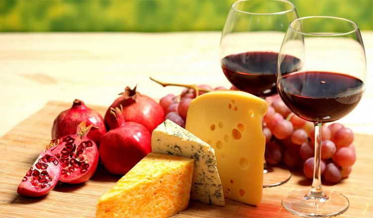 вино саперави красное полусладкое
