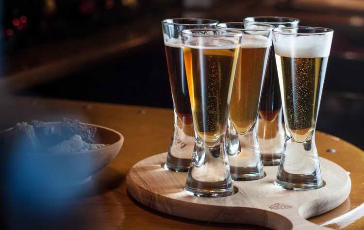 с чем пить светлое пиво