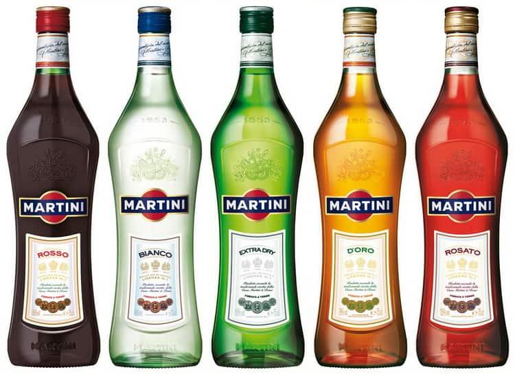 вермут мартини: виды и особенности