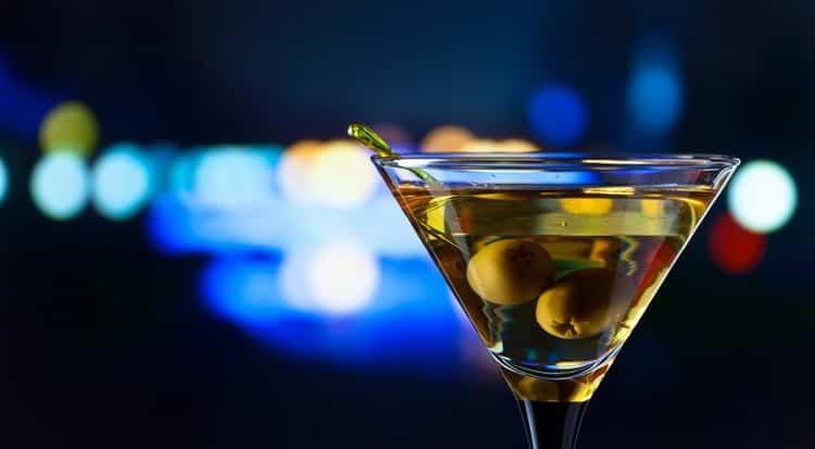 Как подавать вермут мартини