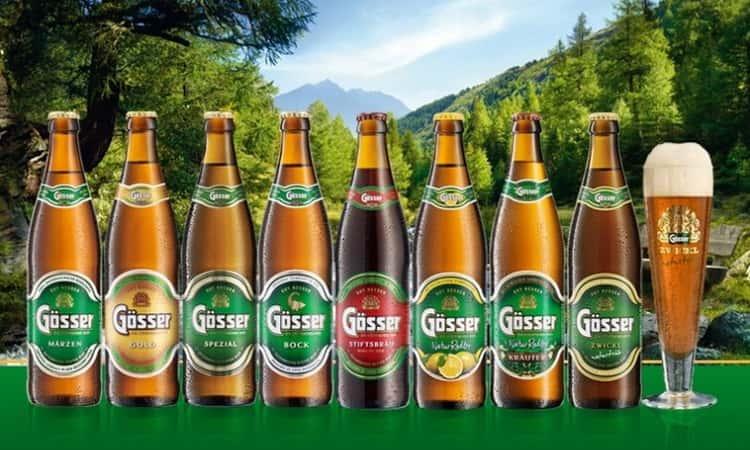 Какие виды пива гессер производитель делает в россии