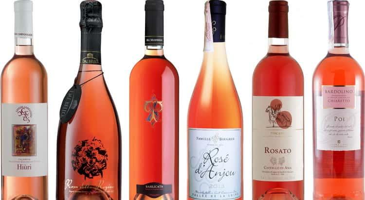 вино розе: дегустационные характеристики
