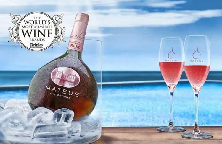 С чем пьют розовое вино