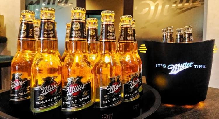 Еще одна популярная марка пива.