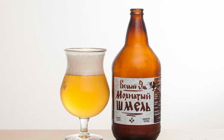 Пиво Мохнатый шмель Белый эль