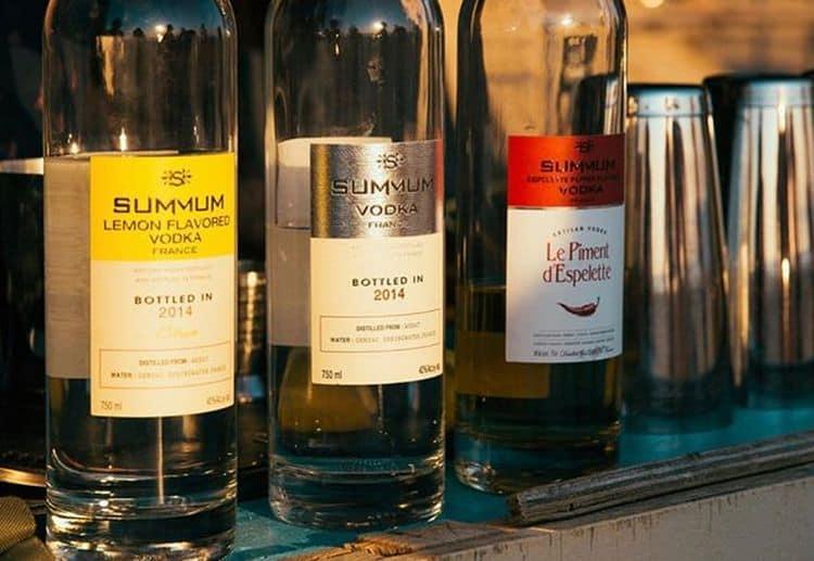 Французская водка Summum может продаваться в специализированных магазинах.