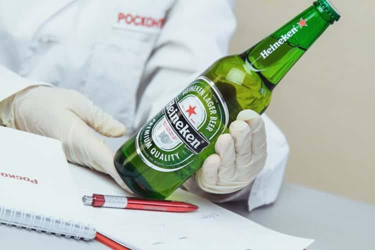 Как подавать хайнекен пиво безалкогольное