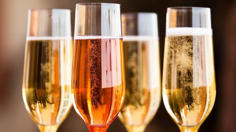 производство игристого вина