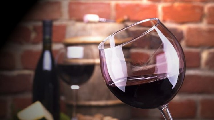 производство красного вина