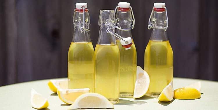 Лимонная настойка на водке в домашних условиях