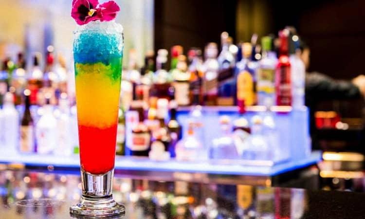 коктейль радуга многослойная безалкогольный