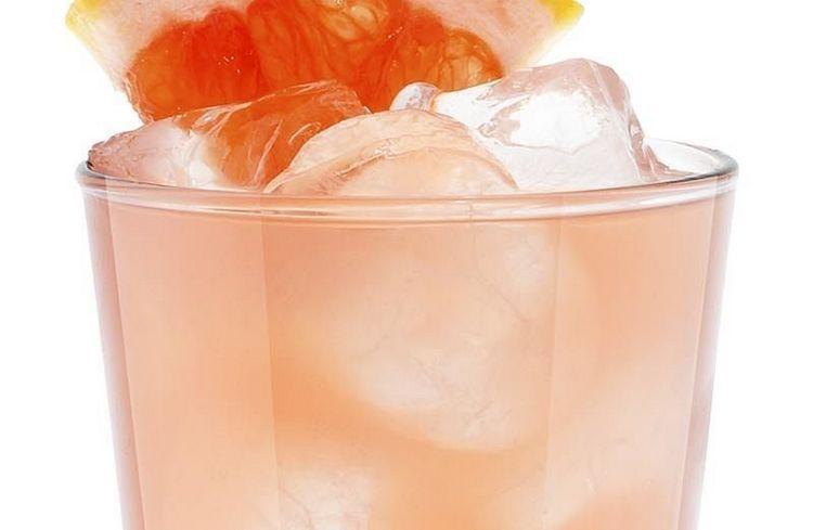 А вот грейпфрутовый вариант коктейля Том Коллинз.