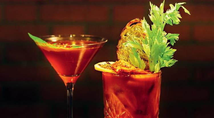 алкогольный коктейль с табаско Кровавая Джейн