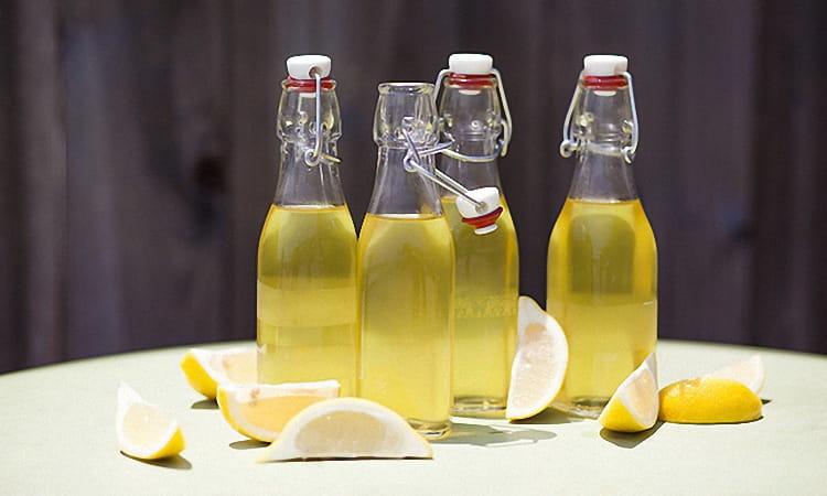 как настоять самогон на лимоне