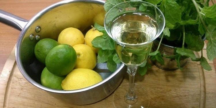 Рецепт самогона на лимонной цедре