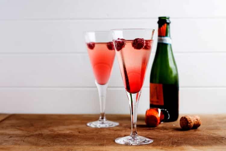 французское игристое вино