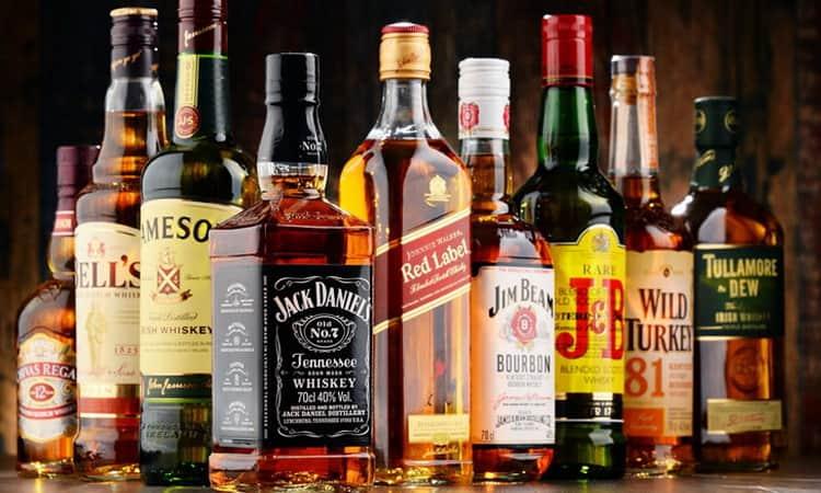 Виски популярный алкогольный напиток