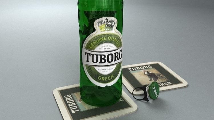 Пиво Туборг понравится тем, кто предпочитает брендовые напитки.