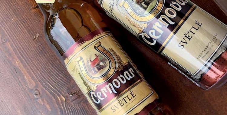 Популярное пиво Черновар.