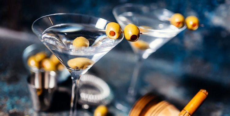 С чем пьется мартини