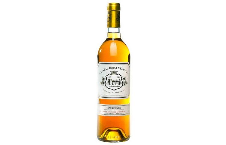 Сладкое вино Chateau Doisy-Vedrines Sauternes 2005
