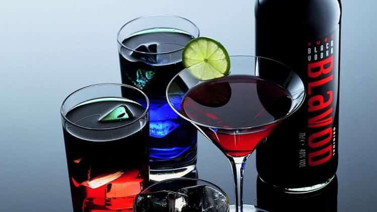черная водка blavod: дегустационная хзарактеристика