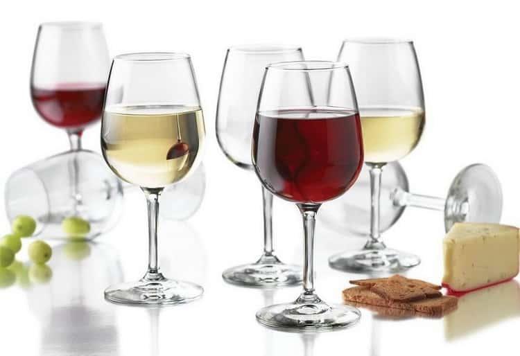 белое сухое французское вино
