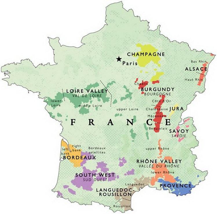 французское полусладкое вино