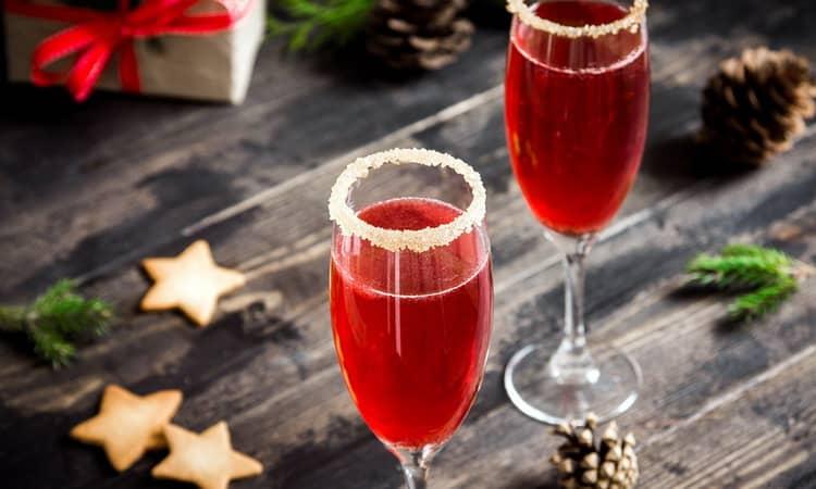 Отличный коктейль рождественская мимоза